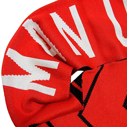 Nike Manchester United MANU Supporters Scarf Black/Diablo Red/White 619317-010