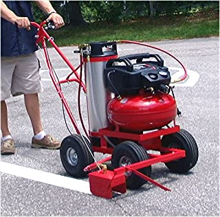 parking lot striping machine