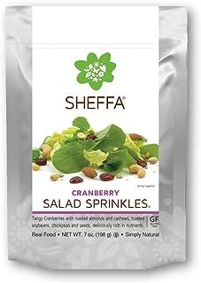 Sheffa Gourmet Cranberry Trail and Salad Mix (7oz 3 Pack) - Gluten Free, Vegan