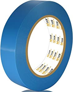Heavy Transportation Strapping Tape, 1 inch x 82 feet,Industrial Grade Multifunctional Tape, Used to fix Moving Parts of Electrical appliances and Furniture.No Residue,Blue