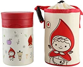 WCHCJ Insulation Lunch Box Insulation Barrel Stainless Steel Vacuum Flask Cup Rice Bucket Insulation Box (Color : B)