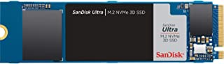 SanDisk サンディスク 内蔵SSD Ultra 3D NVMe M.2-2280 500GB / SDSSDH3N-500G-G25 / 転送速度 最大 2400MB/秒