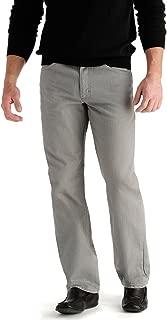 Men's Regular Fit Straight Leg Jeans - Battleship,...