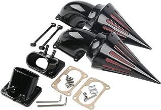 XFMT Black Dual Spike Air Cleaner Filter Kit Intake Compatible with Suzuki Boulevard M109R M109 R