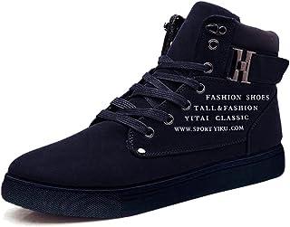 Minetom Herren Sneaker Mode Casual Schuhe Herbst Winter Sportschuhe Turnschuhe Lace Up Freizeitschuhe Trainer Espadrilles ...