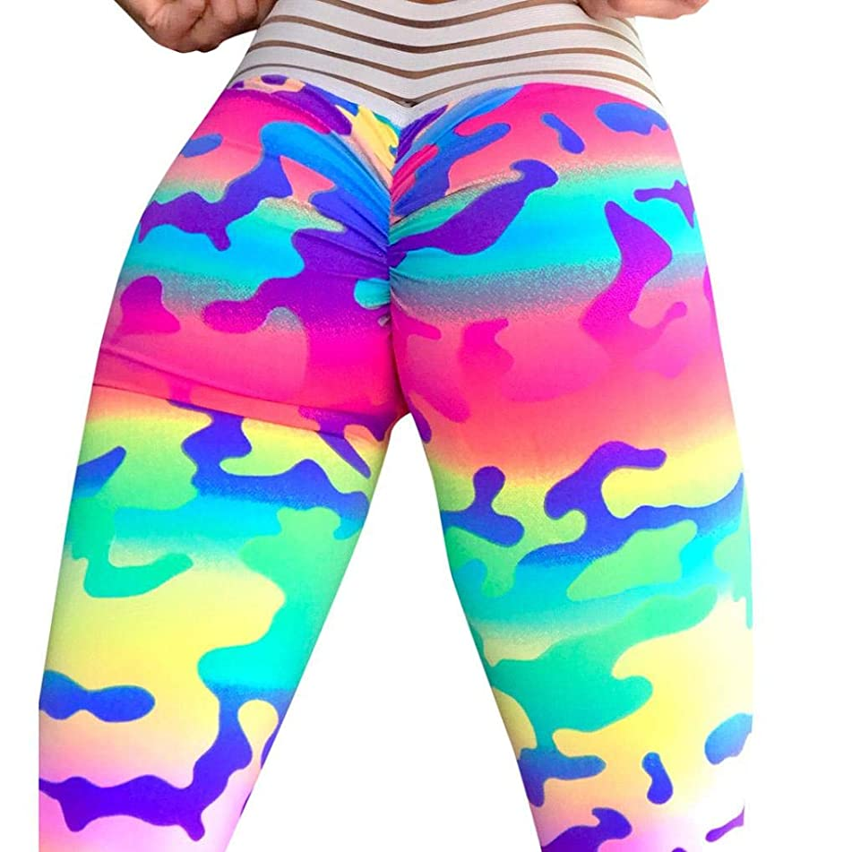 Usstore  Workout Leggings Pants Women Fitness Yoga Athletic Trousers Jersey Pants