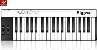 IK Multimedia iRig Keys Pro 37 Keys MIDI Keyboard Controller for iOS Android