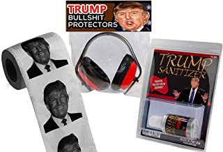 Donald Trump Survival Kit – Funny Donald Trump Novelty Gift Donald Trump President 45 Administration Candidate Election 2016 Collectibles Fun Political Gifts for Democrats Republicans White Elephant