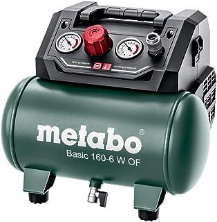 Metabo 601501000 Kompressor Basic 160–6 W, Grön, En Storlek