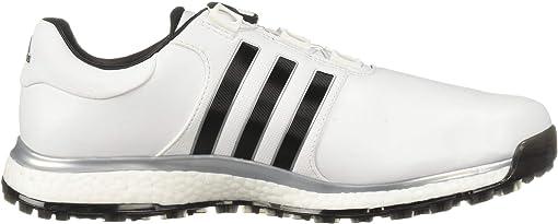 Footwear White/Core Black/Silver Metallic