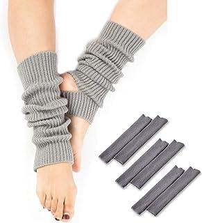(POMAIKAI) 冷えとり レッグウォーマー レディース ソックス ヨガ 靴下 3足セット