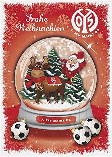 FSV Mainz 05 Adventskalender mit Schokolade