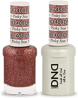 DND Soak Off Gel 0.5 Ounce (408 Pinky Star)