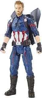 Marvel Avengers Titan And Backpack Power FX Captain America-Portuguese Version (Hasbro e0607ew0)