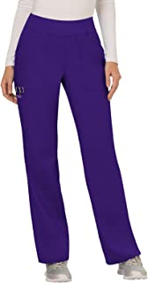 Cherokee Workwear Revolution Women's Mid Rise Straight Leg Pull-On Scrub Pant