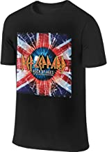 Def Leppard The Definitive Collection Fashion Men's Short Sleeve T-Shirt