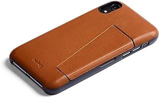 Bellroy Leather iPhone XR Phone Case - 3 Card - Caramel