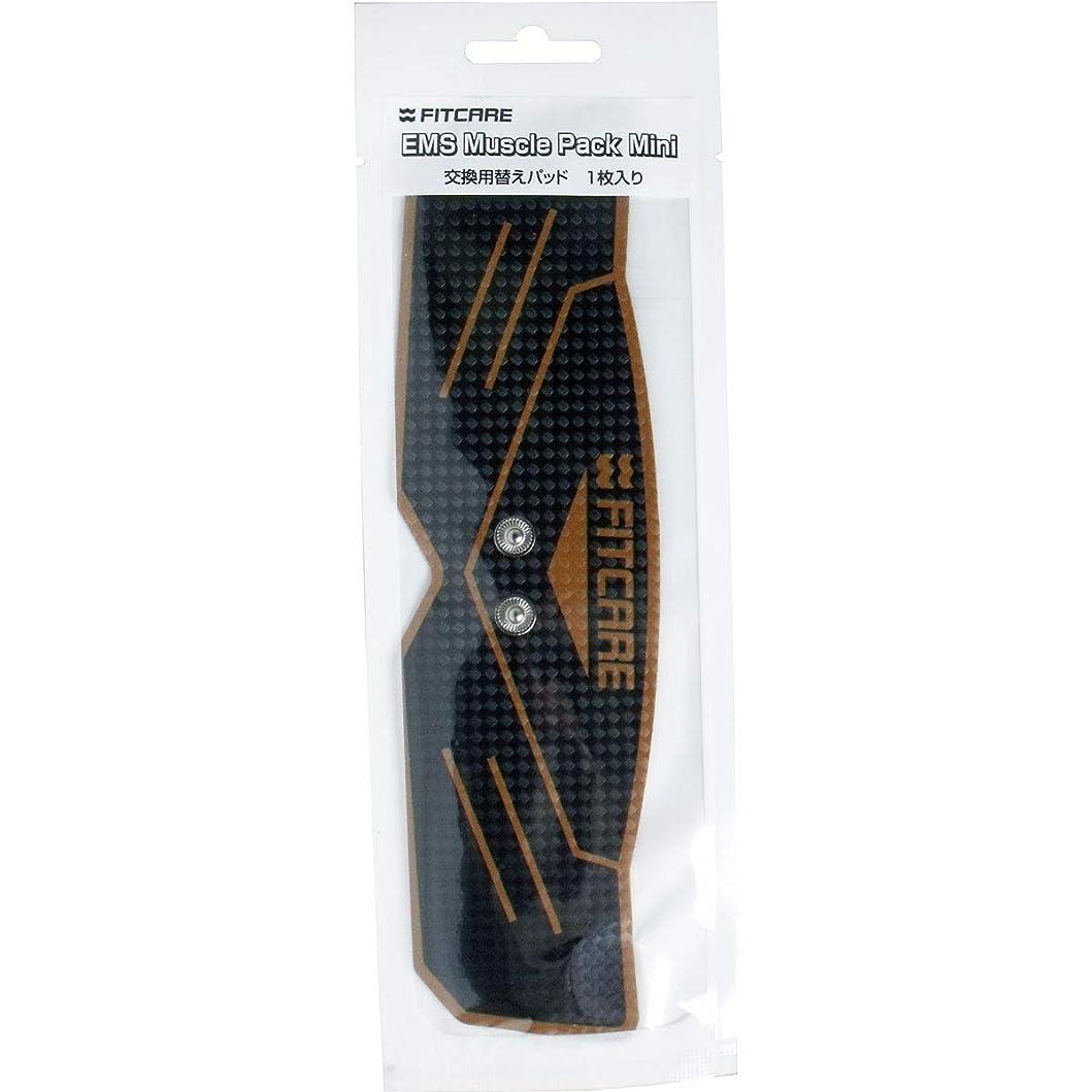 シエスタスポークスマンスチュアート島EMS マッスルパックミニ 交換用替えパッド 1枚入×5個セット