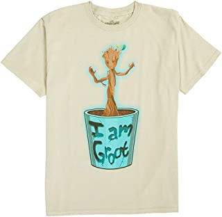 Guardians of the Galaxy - Boys Baby Groot T-Shirt - Tan