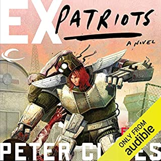 Ex-Patriots audiobook cover art