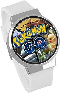 63af75899 Relojes De Pulsera Pokemon Anime Impermeable Táctil Pikachu Led Luz  Electrónica Reloj Creativo para Niños