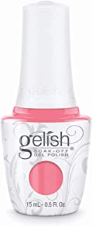 Harmony Gelish Gel Polish - Rose-y Cheeks - 0.5oz / 15ml