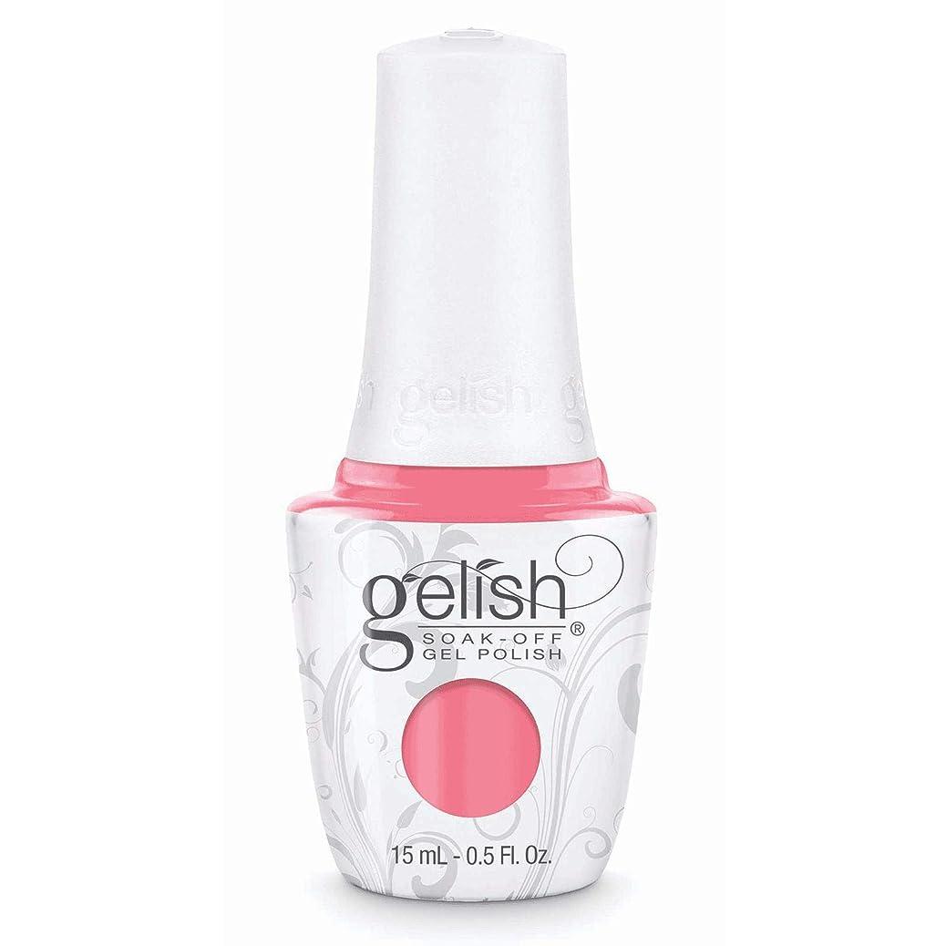 広範囲にフォーマット束Harmony Gelish Gel Polish - Rose-y Cheeks - 0.5oz / 15ml