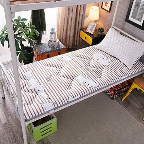 HLDBW Japanse dikker Futon Tatami kussen matras anti-slip zachte Futon matras opvouwbare vloermatten studentenslaapzaal Bunk Thuis slapen bed katoen pads