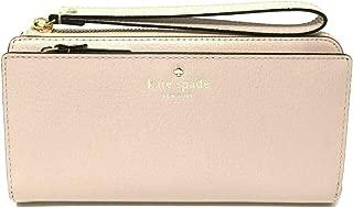 Kate Spade NY Grand Street Leather Layton Wallet Clutch - Warm Vellum