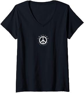 Femme John Lennon - Imagine T-Shirt avec Col en V