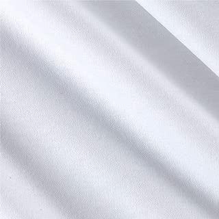 Fabric Merchants Cotton Jersey Knit Solid Optic White