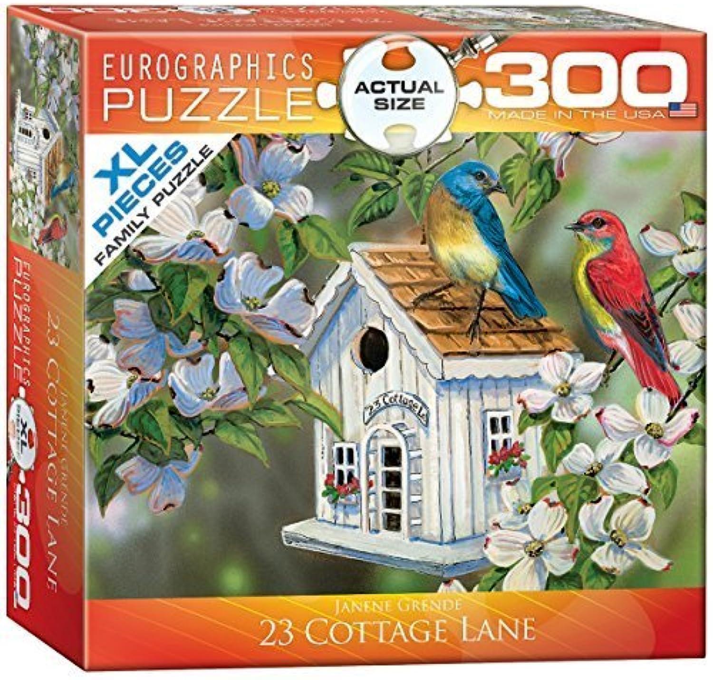 100% precio garantizado Eurographics 23 Cottage Lane by Janene Grende MO MO MO Puzzle (XL, 300 Pieces) by Eurographics  cómodo