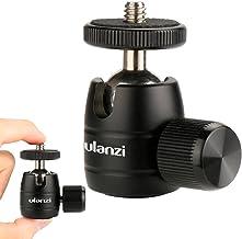 ULANZI U-30 - Cabezal de trípode Giratorio de 360 Grados con Rosca de 1/4