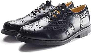 Leather Ghillie Brogue Kilt Shoes Traditional Scottish Piper and Highland Outfit Wedding Shoes Featuring Extra Long Laces & Leather Tassels - Sizes 7 – 15 Style - Comfort Piper Color - Black