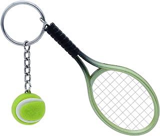 Tennisliebhaber Geschenke Tennis-Schmuck Trainer Tennis Makes Me Happy Schl/üsselanh/änger Tennis-Teams Geschenk f/ür Tennisspieler