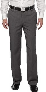 Covington Men's Flat Front Dress Pants - Fishman & Tobin INC. Size: 30W-30L. Color: Gray
