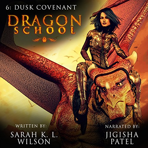 Dragon School: Dusk Covenant audiobook cover art