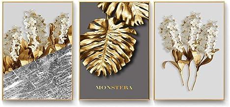 HEZHANG Nowoczesny minimalistyczny salon sofa tło wiszące obrazy na ścianę skandynawska moda trzy obrazy dekoracyjne do ja...
