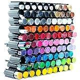 100 pc Set, Craft Paint Organizer - Storage Paint Rack,...