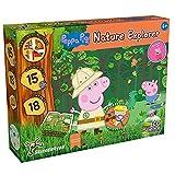 Science4you - Kit Explorador Peppa Pig Niños 4 Años - Kit Ciencia con +15 Eco Actividades: CREA un Hormiguero, Utiliza la Lupa y Prismaticos para Niños, Juegos Educativos para Niños 4-8 Años, 80003262