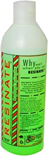 Resinate Green Cleaning Solution Glass Pyrex Metal Ceramic Disinfect Clean 12oz