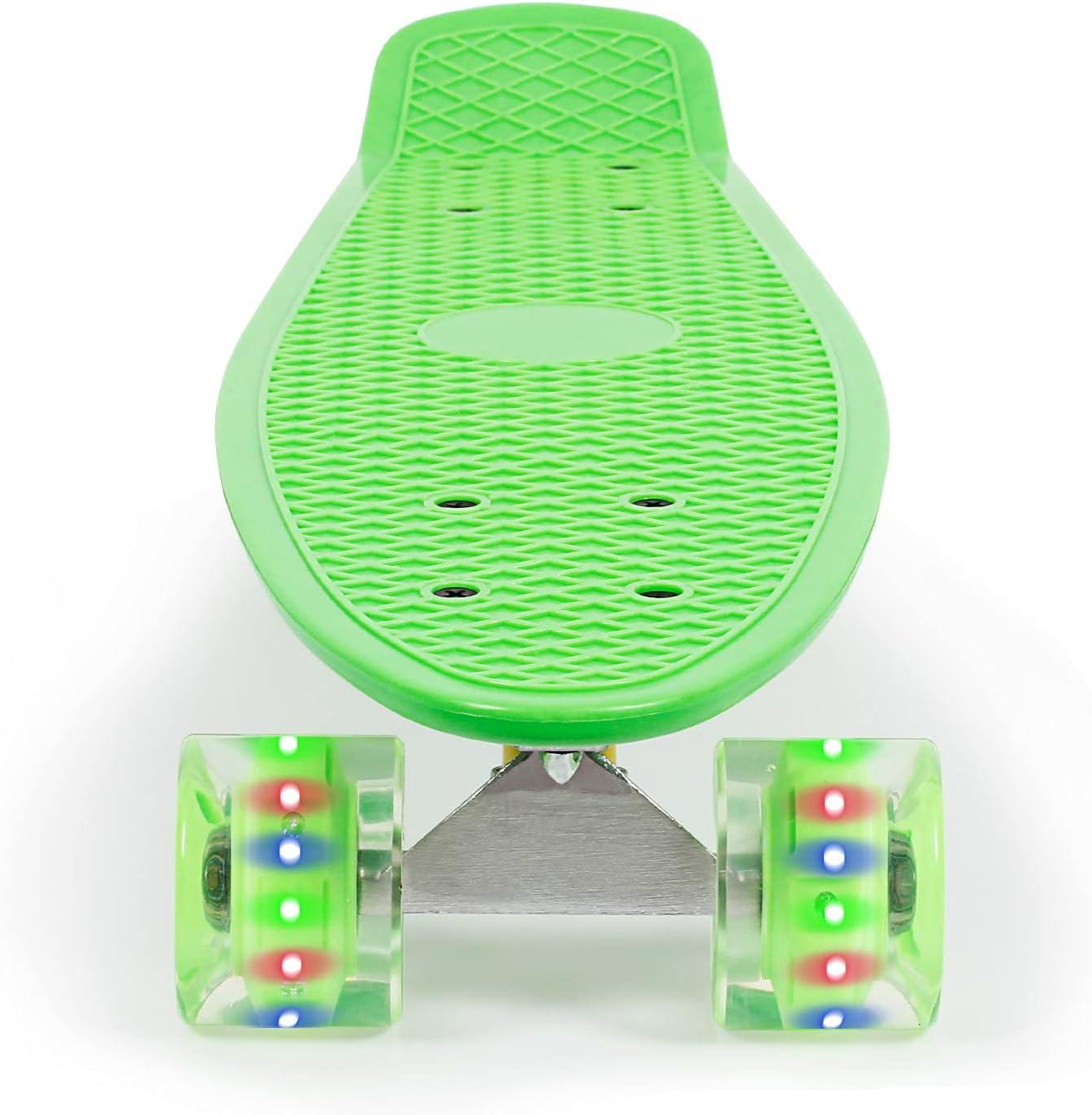 JOLEGE Mini Oklahoma City Mall Cruiser Complete Skateboard Under blast sales Plastic 22 Inch Skateb