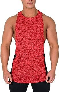 Benficial New Summer Tank Tops Mens Summer Printed Slim Sleeveless Vest Blouse Sports Fitness Vest