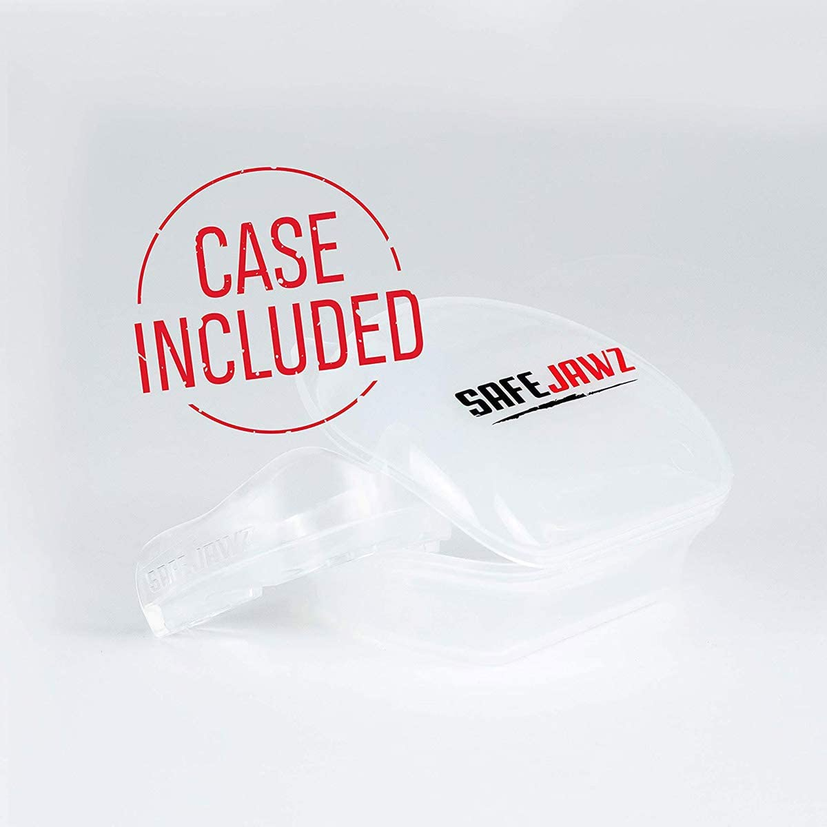 SAFEJAWZ Mouthguard Slim Fit, Adults and Junior Mouth Guard with Case for Boxing, Basketball, Lacrosse, Football, MMA, Martial Arts, Hockey and All Contact Sports : Sports & Outdoors