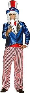 Mens Uncle Sam Adult Costume