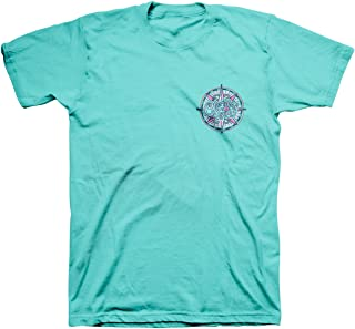 Women's Compass T-Shirt - Scuba -