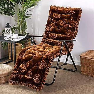ZBBN Cojín reclinable con Respaldo Alto, cojín para sillón, cojín para Silla Mecedora, 2 Cojines para sillas de jardín, sillón de Patio, h 53x163cm (21x64inch)
