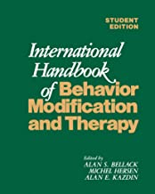 International Handbook of Behavior Modification and Therapy (English Edition)