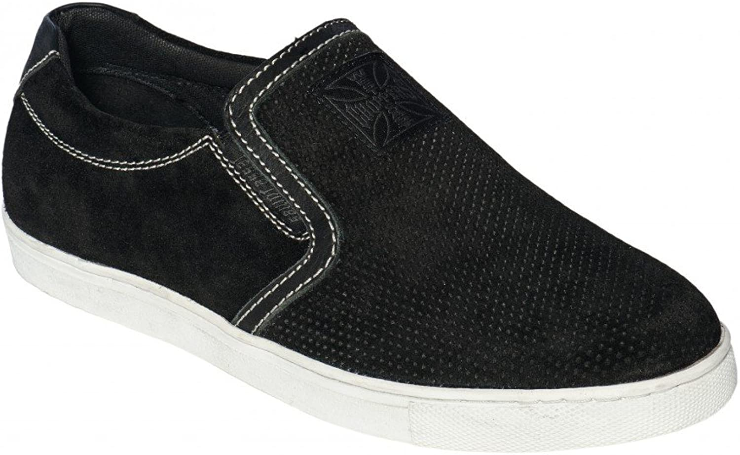 West Coast Choppers shoes Outlaw Suede Slip-Ons Black