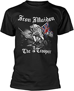 Rock Off Iron Maiden Sketched Trooper Camiseta Hombre